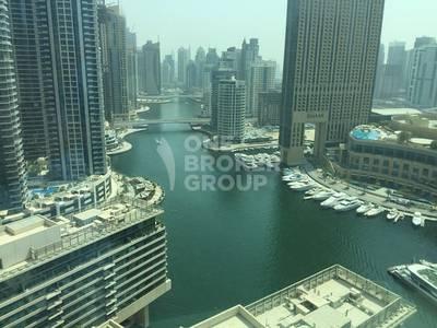 1 Bedroom Flat for Rent in Dubai Marina, Dubai - Full Marina view