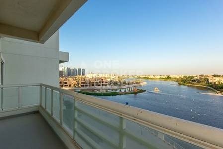 3 Bedroom Apartment for Sale in Jumeirah Heights, Dubai - 3BR light & bright duplex with lake view