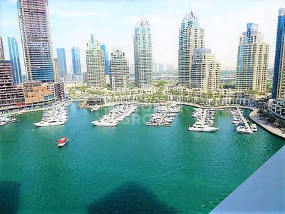 3 Bedroom Apartment for Sale in Dubai Marina, Dubai - 3BR with Astonish Full Water View Vacant