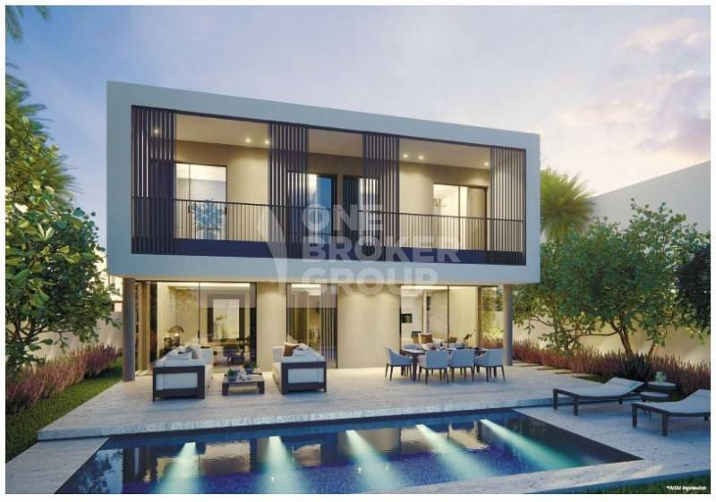 4 Bedroom Luxury villa with park view*corner plot