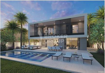 5 Bedroom Villa for Sale in Tilal Al Ghaf, Dubai - 5 Bedroom Luxury villa with water and park view