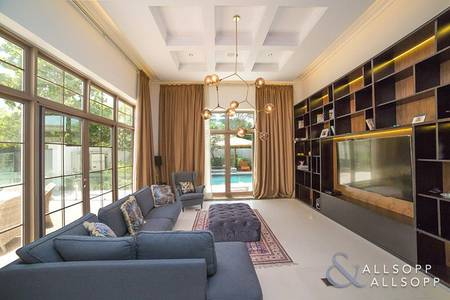 6 Bedroom Villa for Sale in Al Barari, Dubai - Vacant | Al Barari | Dahlia | Stream View