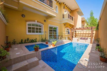 3 Bedroom Townhouse for Sale in Dubai Sports City, Dubai - 3 Bed Plus Maids   Private Pool   Vacant