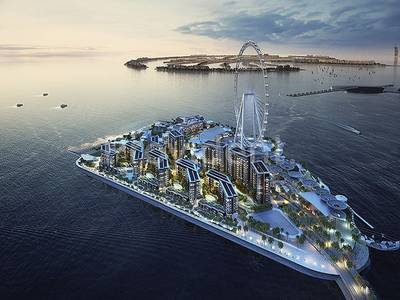 2 Bedroom Apartment for Sale in Bluewaters Island, Dubai - Pay 20% and Move in | Pay 80% in 5 years