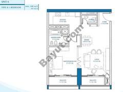 1 Bedroom Unit 6
