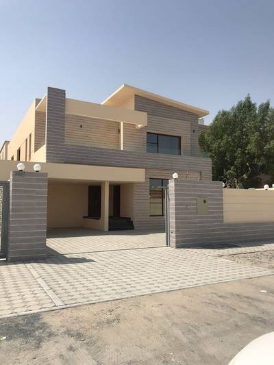 5 Bedroom Villa for Sale in Al Mowaihat, Ajman - For sale villa two floors magnificence next to a mosque very distinctive location