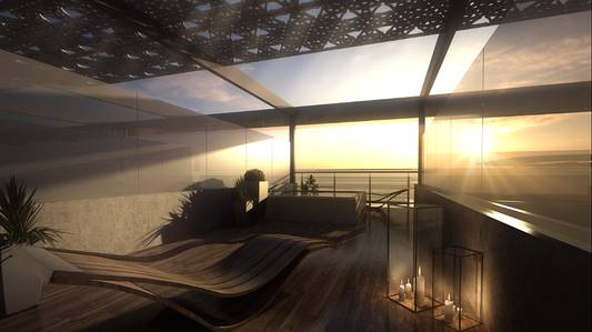 3 Bedroom Flat for Sale in Masdar City, Abu Dhabi - Sensational Three Bedroom Sky Home Roof