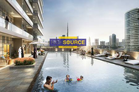 1 Bedroom Apartment for Sale in Business Bay, Dubai - Easy Payment Plan | Fully Furnished 1BR - Elite Business Bay Residence