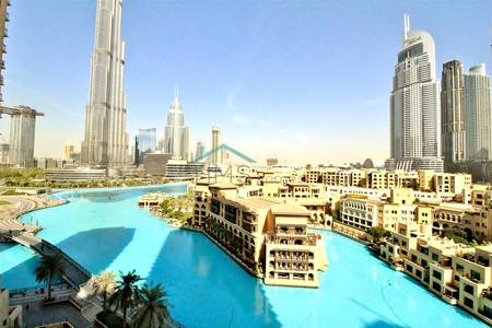 3 Bedroom Flat for Rent in Downtown Dubai, Dubai - THREE BED | BURJ + FOUNTAN VIEW | AVAILABLE NOW