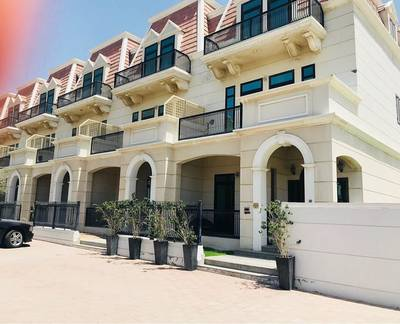 4 Bedroom Townhouse for Sale in Jumeirah Village Circle (JVC), Dubai - XXL Landscaped Garden Corner Plot
