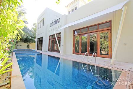 5 Bedroom Villa for Rent in Al Barari, Dubai - 5 Bedrooms | Pool | Maintenance Contract