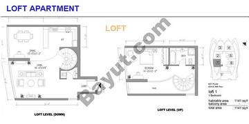 Loft Apt Upper And Lower Level
