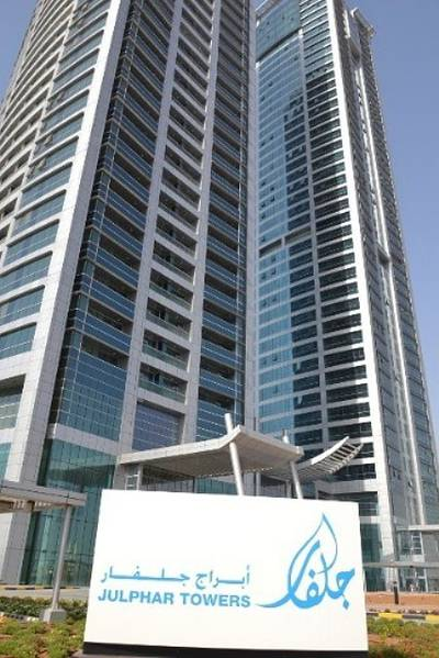 Office Shell and Core (791 sqft) for Sale in Julfar Tower Executive