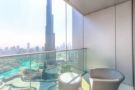 Full Burj Khalifa / Fountain View | 2 BR