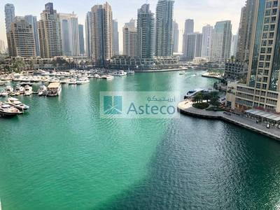 1 Bedroom Apartment for Rent in Dubai Marina, Dubai - Low floor | fully furnished |Marina View