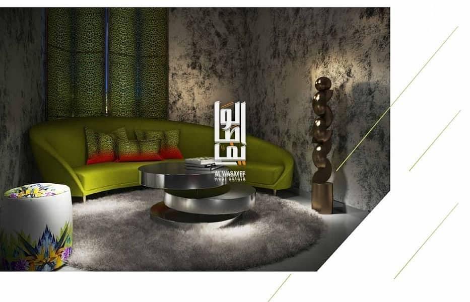2 Best offer luxurious design by  Cavalli  in dubailand!!
