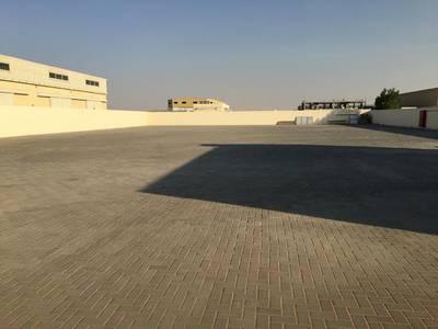 Industrial Land for Rent in Al Saja, Sharjah - 22000 sqft openn yard 3 phase power 42 kw power saja industrial area sharjah
