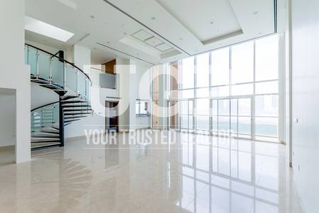 5 Bedroom Penthouse for Rent in Al Reem Island, Abu Dhabi - Full Sea View | Brand new 5 BR Penthouse