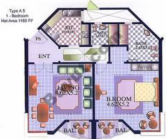 1 Bedroom Type A5