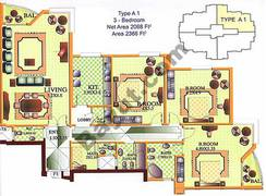3 Bedroom Type A1