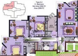 3 Bedroom Type A2