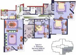 3 Bedroom Type A4