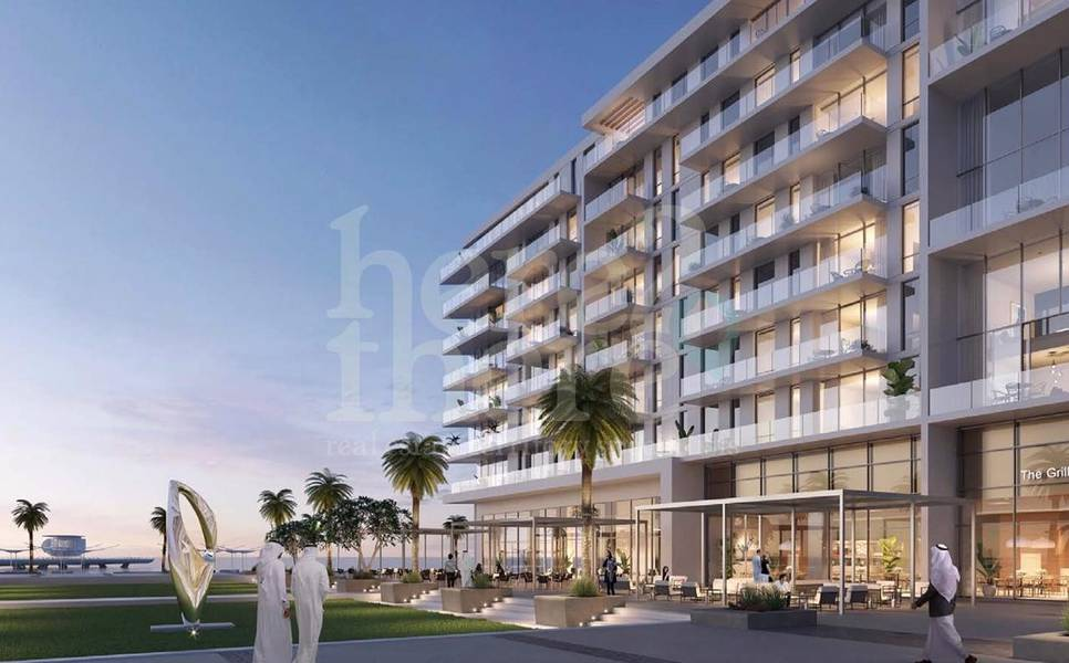 16 Luxurious 2br Townhouse in Mamsha Saadiyat with Courtyard and Seaview.