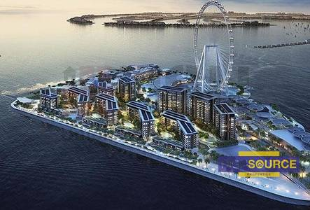 1 Bedroom Apartment for Sale in Bluewaters Island, Dubai - Pay 10 % and Move in  Blue waters 1 bed in Dubai Marina