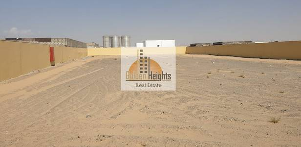 Industrial Land for Rent in Al Saja, Sharjah - 30000 Sq ft Openland WITH 45VA SEWA connected available for rent in Sajja IA (K)