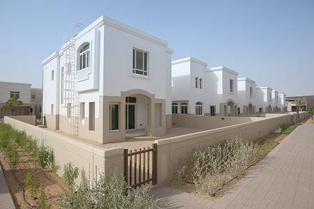 3 Bedroom Villa for Rent in Al Ghadeer, Abu Dhabi - 4 Cheques-3 Bed with Maids & Study. .