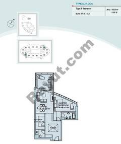 1 Bedroom Suite (7,15)