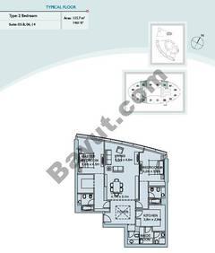 2 Bedroom Suite (3,6,14)