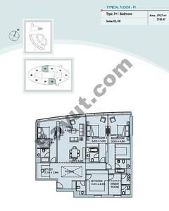 Type H 3 Bedroom Suite (3,8)