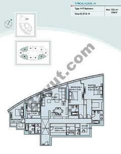 Type H 4 Bedroom Suite (2,7,10)