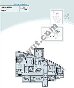 Type H 4 Bedroom Suite 5