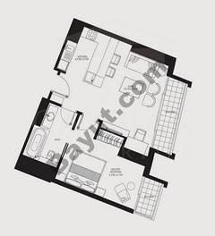 1 Bedroom (Type 6)