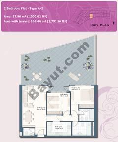 2 Bedroom Flat Type A-2