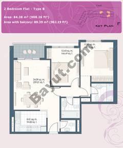 2 Bedroom Flat Type B