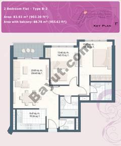 2 Bedroom Flat Type B-2