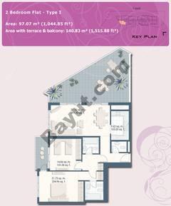 2 Bedroom Flat Type I