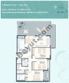 3 Bedroom Flat Type A-3
