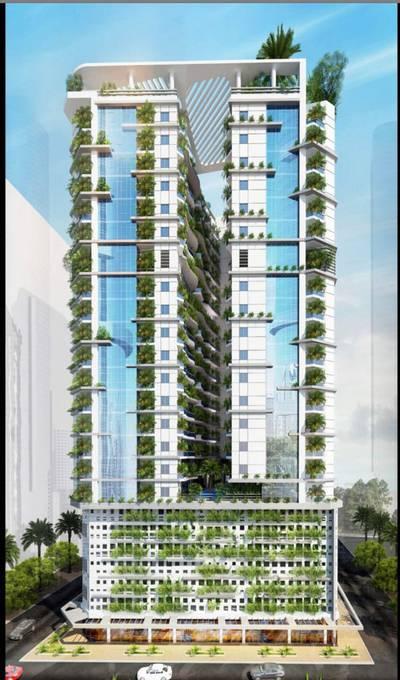 Studio for Sale in Al Amerah, Ajman - تملك شقتك في اول برج صديق للبيئة بالاقساط وبدون فوائد والتملك حر