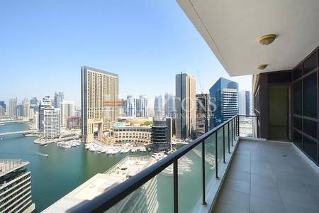2 Bedroom Apartment for Rent in Dubai Marina, Dubai - Beautiful View   Well Maintained 2BR
