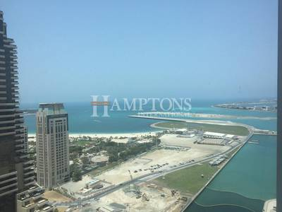 1 Bedroom Flat for Rent in Dubai Marina, Dubai - Stunning Sea View | Fully Furnished 1BR