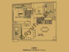 Floorplan For Two Bedroom