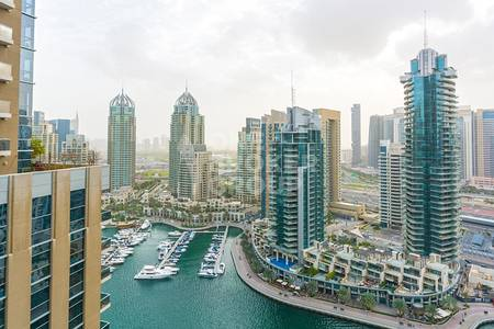 2 Bedroom Apartment for Rent in Dubai Marina, Dubai - Brand New 2 BR with Marina and Sea Views