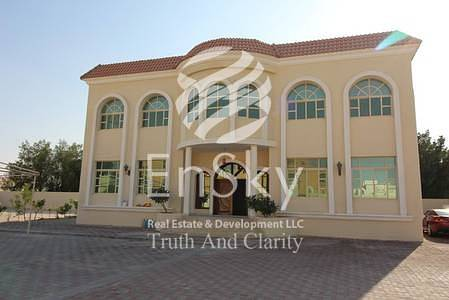 6 Bedroom Villa for Sale in Shakhbout City (Khalifa City B), Abu Dhabi - Brand New 6  Bedroom Villa with Private Parking !