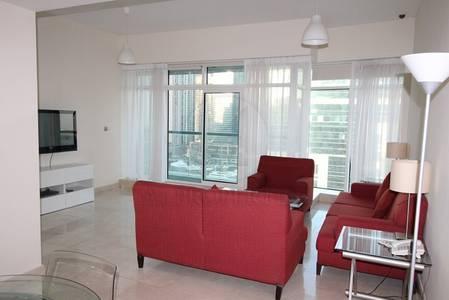 2 Bedroom Flat for Rent in Dubai Marina, Dubai - Furnished 2BR plus Maid Full Marina View
