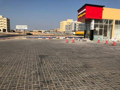 Showroom for Sale in Al Jurf, Ajman - brand new car wash available for sale in ajman