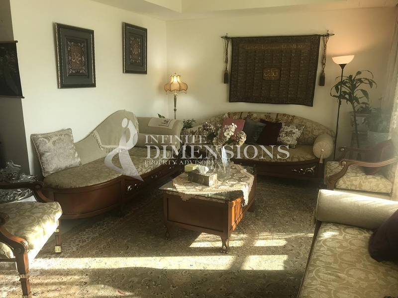 2 Fully Furnished 2+M in Tala Tower for Rent!